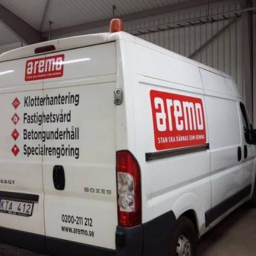 Ny bildekor till Aremo