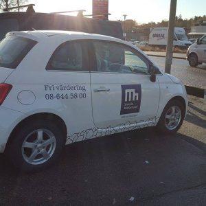 fordonsdekor, företagsprofilering, bildekor