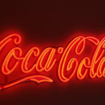 Coca Cola LEDbelysta inomhusskyltar