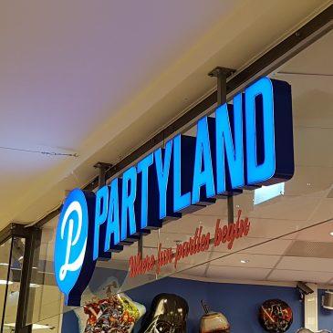 Profilbyte Partyland